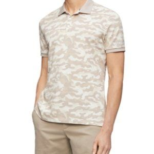 Calvin Klein Men's Ck Move 365 Camo Polo